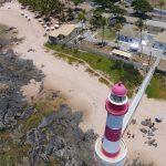 Foto e Filmagem Aérea com Drone Salvador Bahia Farol de Itapoan Salvador