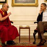 Fotos de Obama na Casa Branca com Dalai Lama