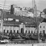 Foto antiga do Mercado Modelo