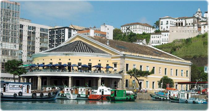 Imagens do antigo Mercado Modelo Salvador Bahia