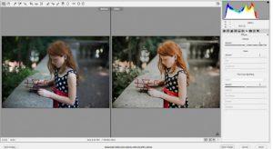 Fotografia de retrato e a edição