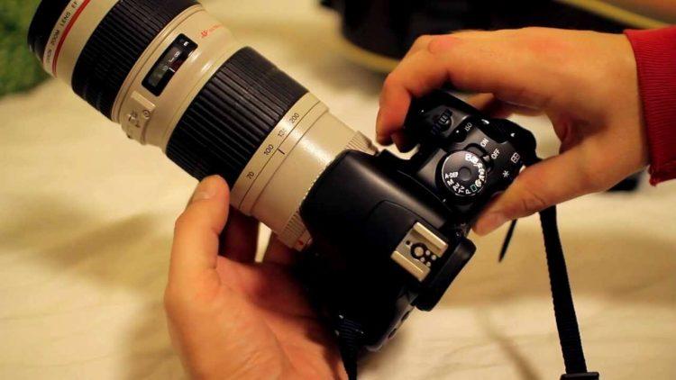 Lente Canon EF 70-200mm